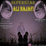 دانلود آهنگ جدید علی نجفی به نام سوپراستار
